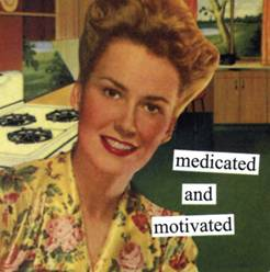 Medicated And Motivated Magnet