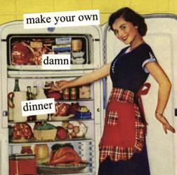 Make Your Own Damn Dinner Magnet
