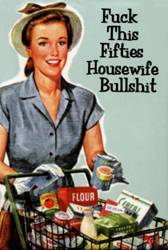 Fifties Housewife Magnet